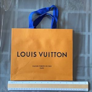 Authentic Small Louis Vuitton Shopping Bag